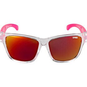 UVEX Sportstyle 508 Brille Kinder clear pink/red